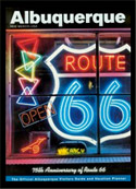Albuquerque Visitors Guide with Roberts Neon on Cover